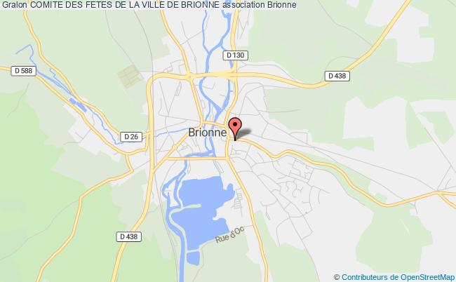 plan association Comite Des Fetes De La Ville De Brionne
