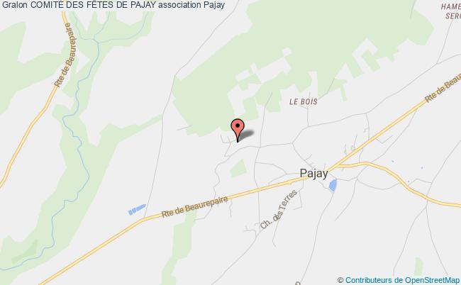 plan association ComitÉ Des FÊtes De Pajay Pajay