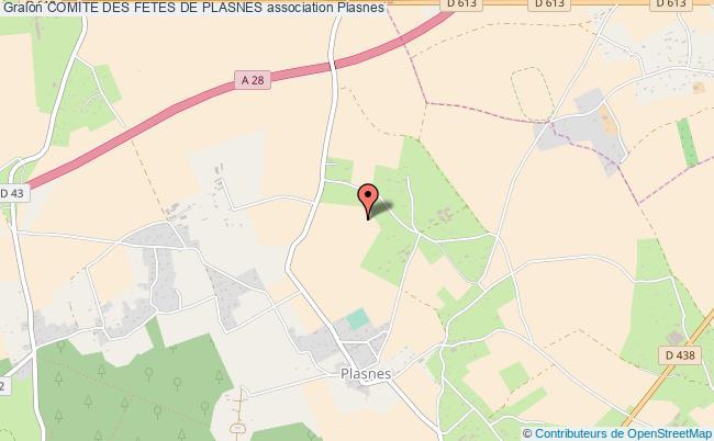 plan association Comite Des Fetes De Plasnes