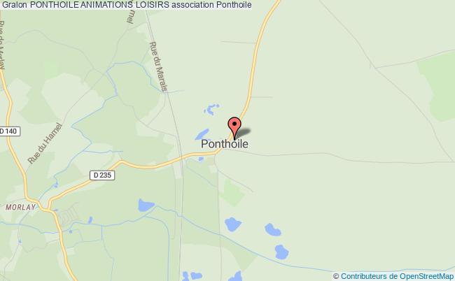 plan association Comite Des Fetes De Ponthoile Romaine Morlay