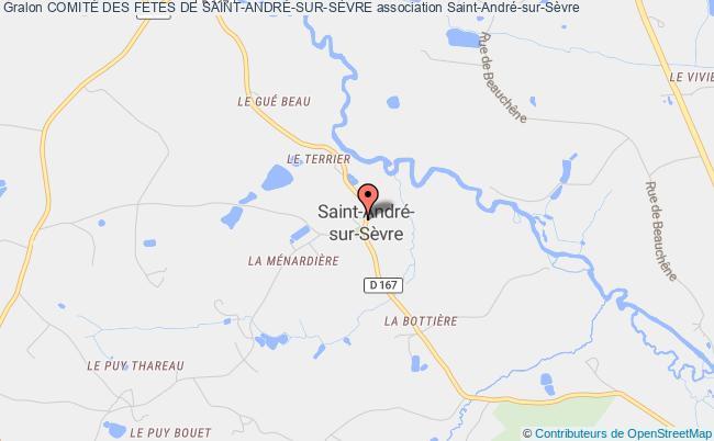 plan association ComitÉ Des Fetes De Saint-andrÉ-sur-sÈvre