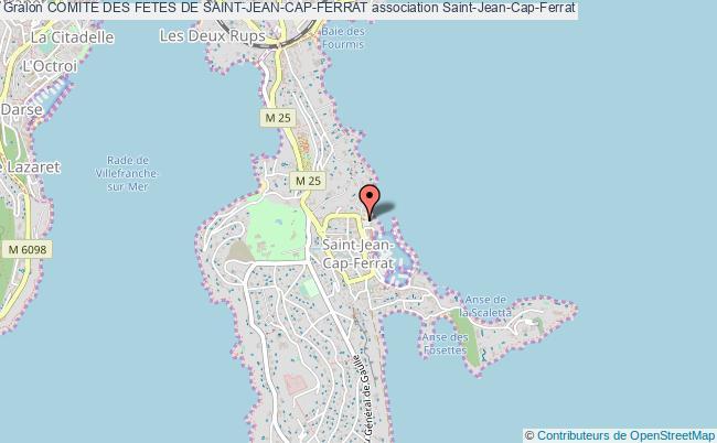 plan association Comite Des Fetes De Saint-jean-cap-ferrat