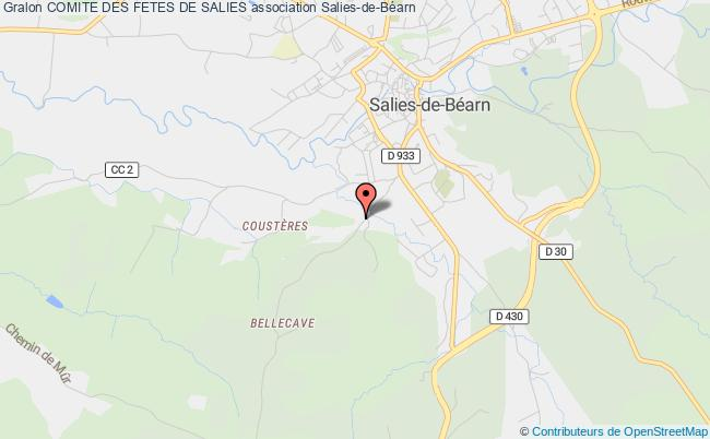 plan association Comite Des Fetes De Salies