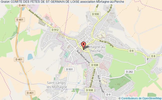 plan association Comite Des Fetes De St Germain De Loise
