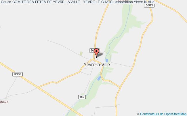 plan association Comite Des Fetes De Yevre La Ville - Yevre Le Chatel