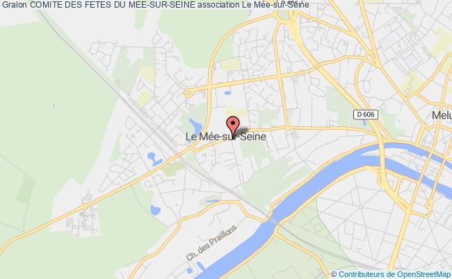 plan association Comite Des Fetes Du Mee-sur-seine Le    Mée-sur-Seine