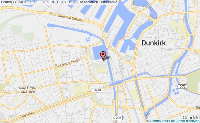 Plan De Dunkerque - Voyages
