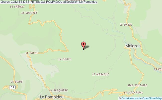 plan association Comite Des Fetes Du Pompidou