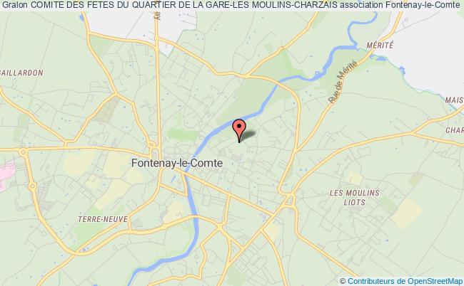 plan association Comite Des Fetes Du Quartier De La Gare-les Moulins-charzais