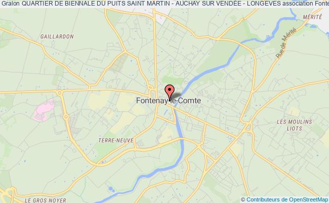 plan association Comite Des FÊtes Du Quartier Du Puits St Martin Auzay - Longeves