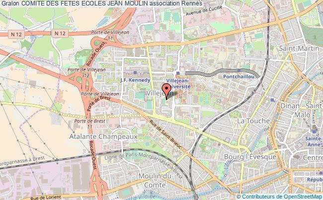 plan association Comite Des Fetes Ecoles Jean Moulin
