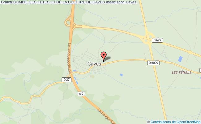 plan association Comite Des Fetes Et De La Culture De Caves