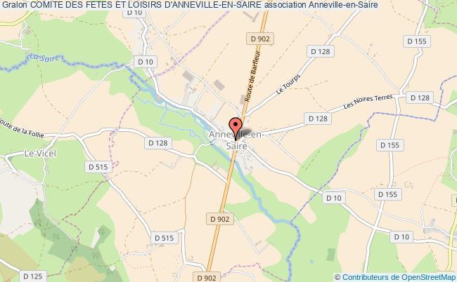 plan association Comite Des Fetes Et Loisirs D'anneville-en-saire Anneville-en-Saire