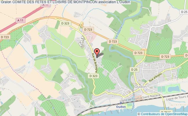 plan association Comite Des Fetes Et Loisirs De Montpincon L'   Oudon