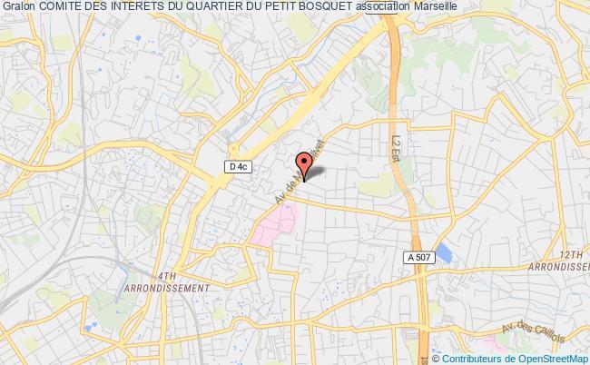 plan association Comite Des Interets Du Quartier Du Petit Bosquet