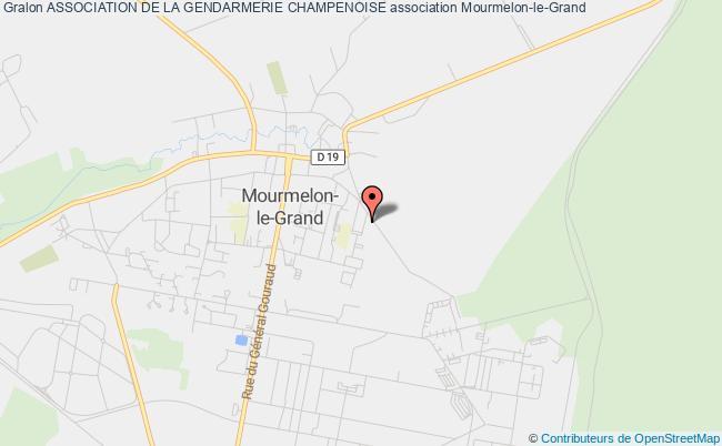 plan association Comite Des Loisirs De La Gendarmerie De Chalons-en-champagne
