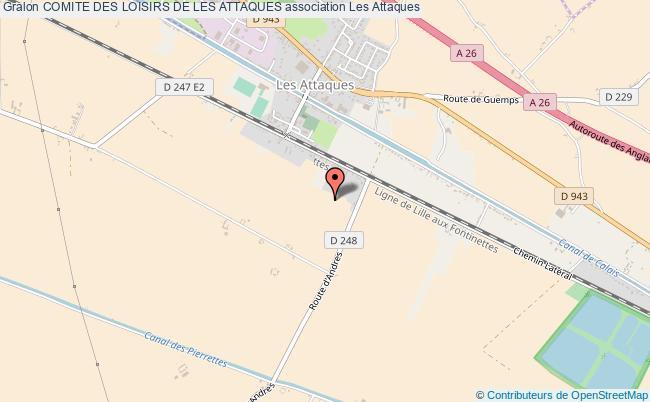 plan association Comite Des Loisirs De Les Attaques
