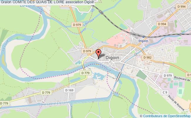 plan association Comite Des Quais De Loire