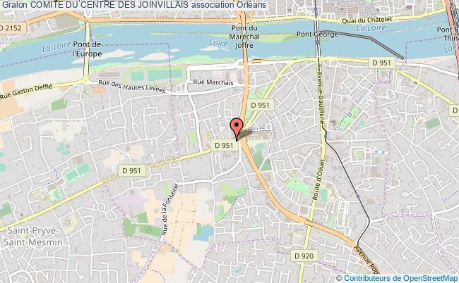 plan association Comite Du Centre Des Joinvillais