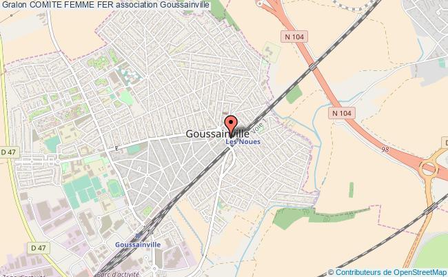 plan association Comite Femme Fer Goussainville