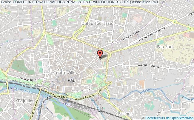 plan association Comite International Des Penalistes Francophones (cipf)