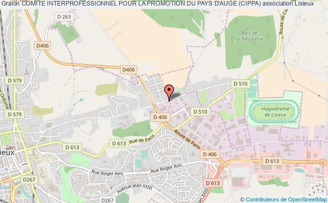 plan association Comite Interprofessionnel Pour La Promotion Du Pays D'auge (cippa)