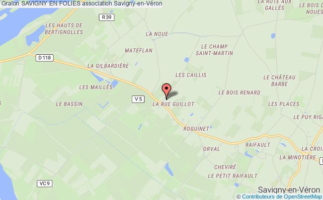 plan association Comite Local Des Fetes Savigny-en-Véron