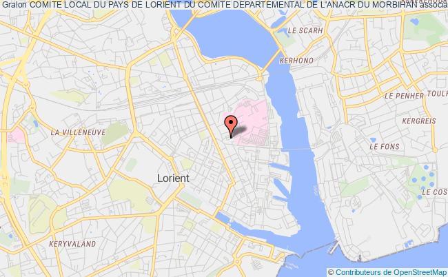 plan association Comite Local Du Pays De Lorient Du Comite Departemental De L'anacr Du Morbihan