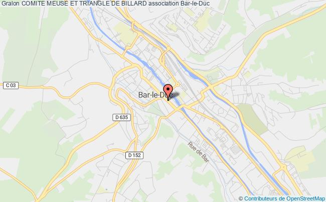plan association Comite Meuse Et Triangle De Billard