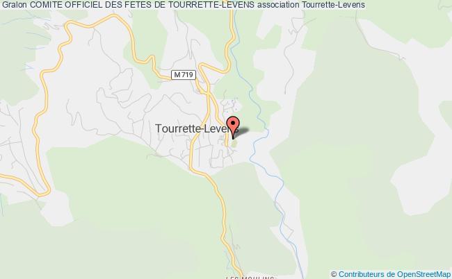 plan association Comite Officiel Des Fetes De Tourrette-levens