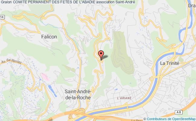 plan association Comite Permanent Des Fetes De L'abadie