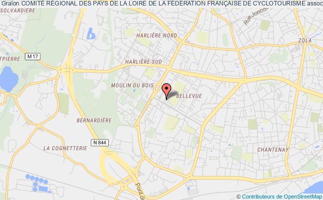 plan association ComitÉ RÉgional Des Pays De La Loire De La FÉdÉration FranÇaise De Cyclotourisme