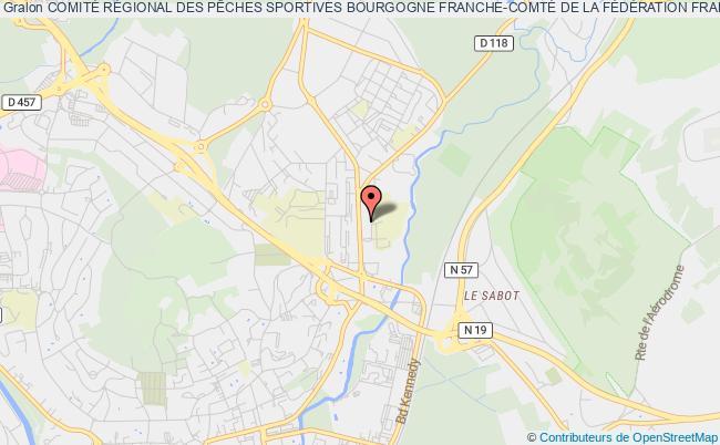 plan association ComitÉ RÉgional Des PÊches Sportives Bourgogne Franche-comtÉ De La FÉdÉration FranÇaise Des PÊches Sportives Vesoul