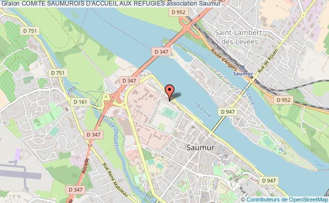 plan association Comite Saumurois D'accueil Aux Refugies