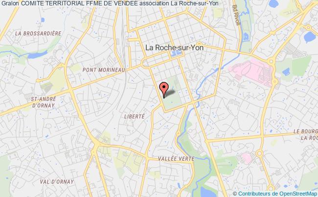 plan association Comite Territorial Ffme De Vendee La    Roche-sur-Yon