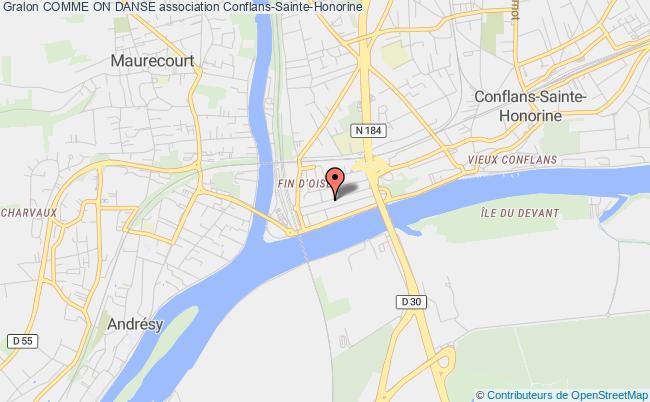 plan association Comme On Danse Conflans-Sainte-Honorine
