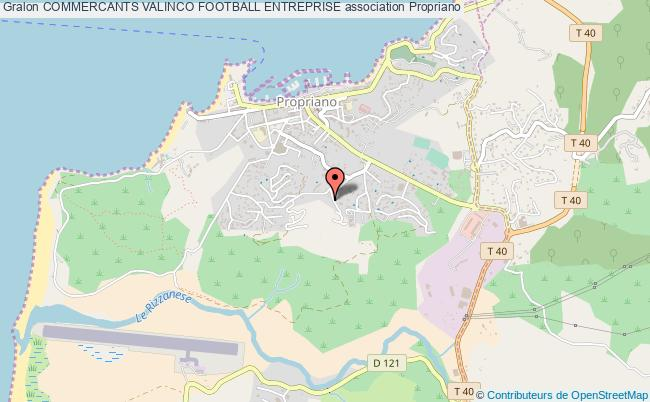 plan association Commercants Valinco Football Entreprise