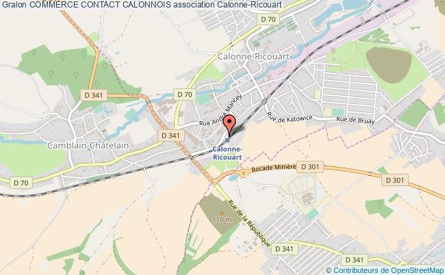 plan association Commerce Contact Calonnois