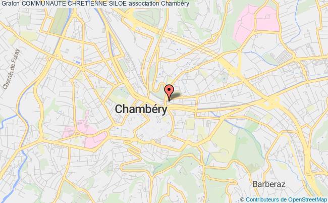 plan association Communaute Chretienne Siloe