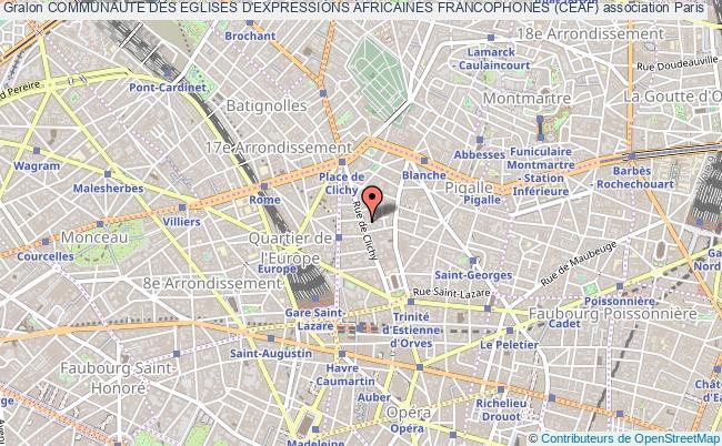 plan association Communaute Des Eglises D'expressions Africaines Francophones (ceaf)