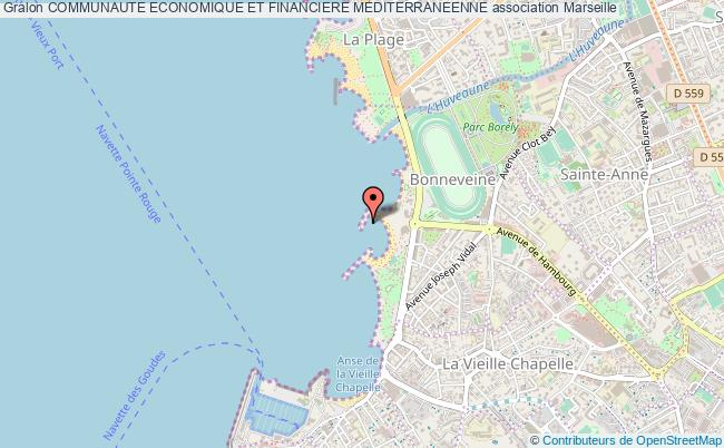 plan association Communaute Economique Et Financiere Mediterraneenne