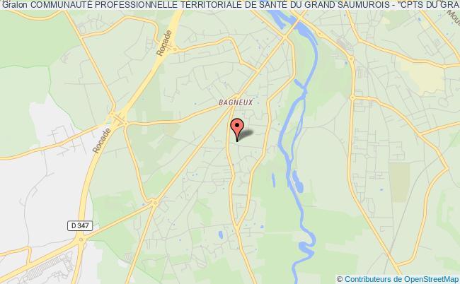 """plan association CommunautÉ Professionnelle Territoriale De SantÉ Du Grand Saumurois - """"cpts Du Grand Saumurois"""""""