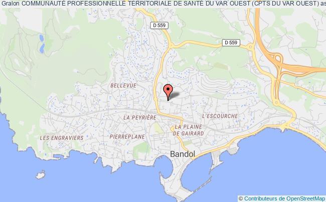 plan association CommunautÉ Professionnelle Territoriale De SantÉ Du Var Ouest (cpts Du Var Ouest)