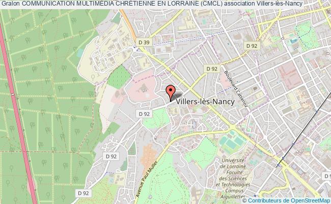 plan association Communication MultimÉdia ChrÉtienne En Lorraine (cmcl)