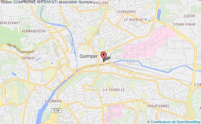 plan association Compagnie Ahtenysti Montrouge