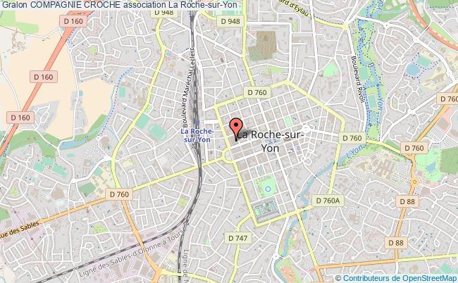 plan association Compagnie Croche La    Roche-sur-Yon