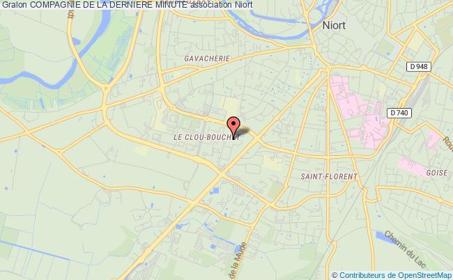 plan association Compagnie De La Derniere Minute