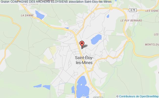 plan association Compagnie Des Archers Eloysiens