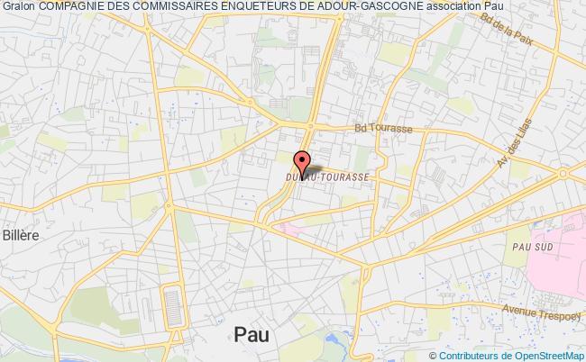 plan association Compagnie Des Commissaires Enqueteurs De Adour-gascogne