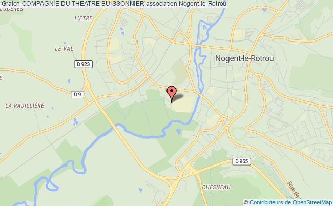 plan association Compagnie Du Theatre Buissonnier